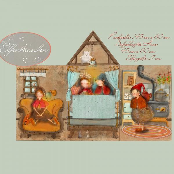Fabrics/Designers/Tante Gisi/Elfenhäuschen Bild 1