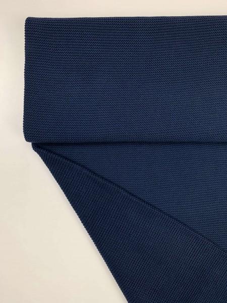 Fabrics/Basics/Solid Knit/Linksstrick, jeansblau dunkel Bild 1