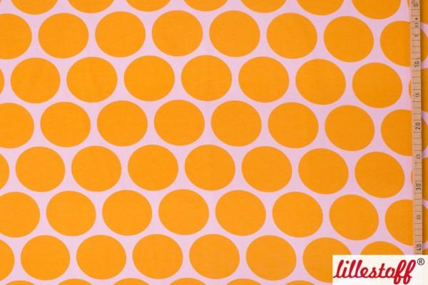 Fabrics/Designers/SUSAlabim/Riesenpunkte rosa gelb Bild 1