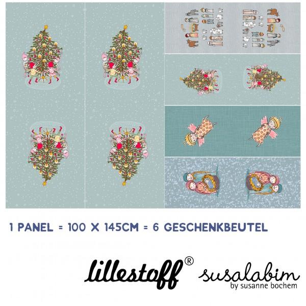 Fabrics/DIY-kits/Others/Susalabims Weihnachtsgeschenkbeutel Bild 1