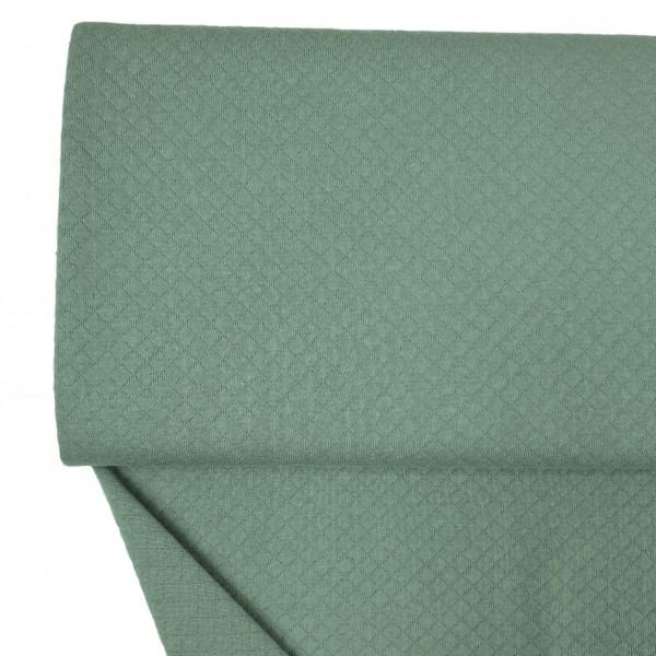 Stoffe/Basics/Stepper Uni/Leichter Baumwollstepper, altgrün dunkel Bild 1