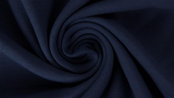 Stoffe/Basics/Jersey Uni/Uni Jersey, marine dunkel Bild 1