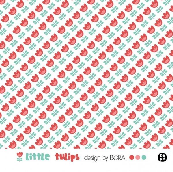 Fabrics/Designers/BORA/Little Tulips Bild 1