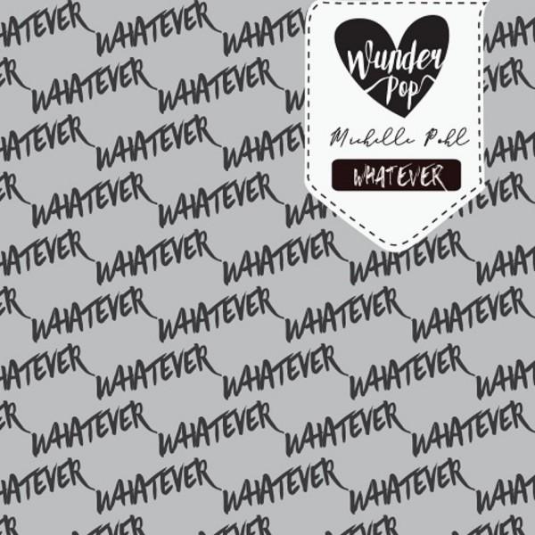 Stoffe/Designer/Wunderpop/WHATEVER grau meliert Bild 1