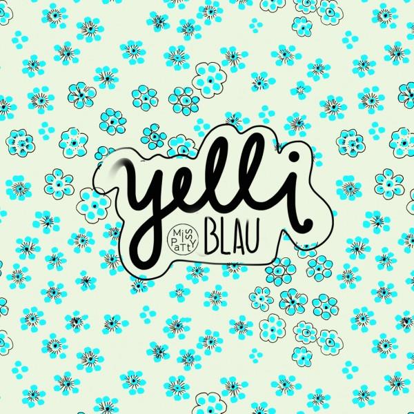 Fabrics/Designers/Miss Patty/Yelli, blau Bild 1