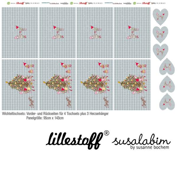 Fabrics/DIY-kits/Others/Wichteltischset Bild 1