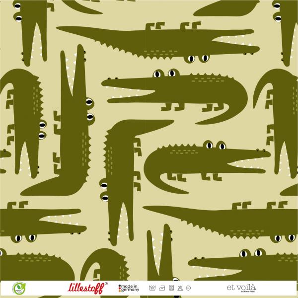 Stoffe/Designer/et voilà/KrokoPuzzle Bild 1
