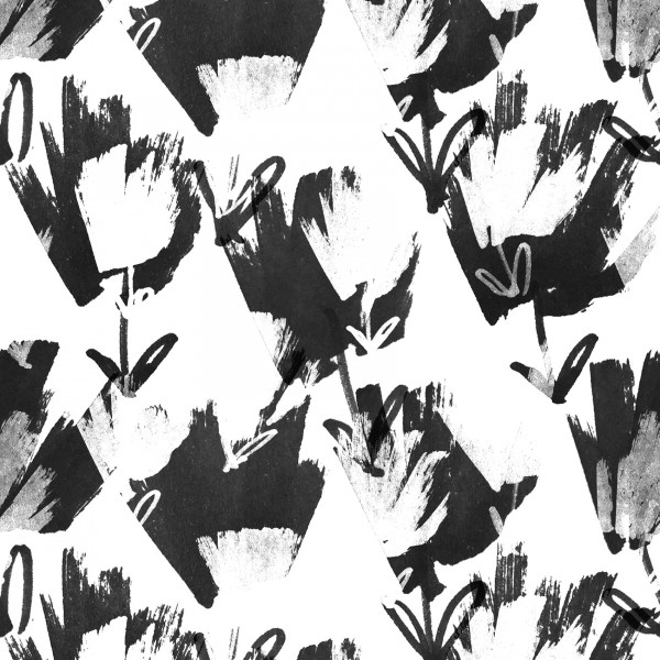 Stoffe/Designer/Enemenemeins/Black Bloom Bild 1