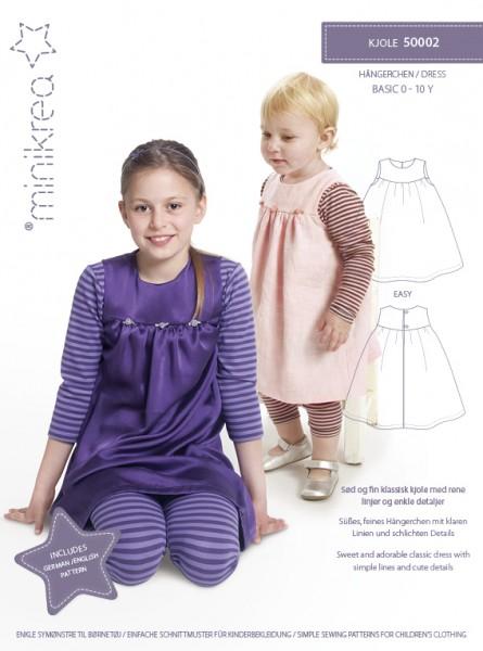Schnittmuster/MiniKrea/SM50002- Schnittmuster/Pattern Hängerchen/Dress Bild 1
