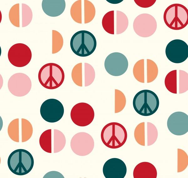 Stoffe/Grafisch/PeacePunkte Bild 1