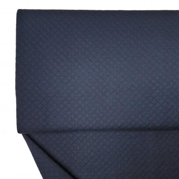Fabrics/Basics/Solid Stepper/Leichter Baumwollstepper, marine Bild 1