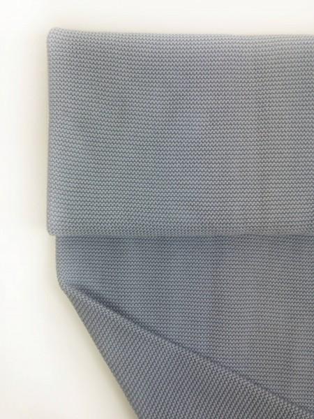 Stoffe/Basics/Strick Uni/Linksstrick, hellblau Bild 1