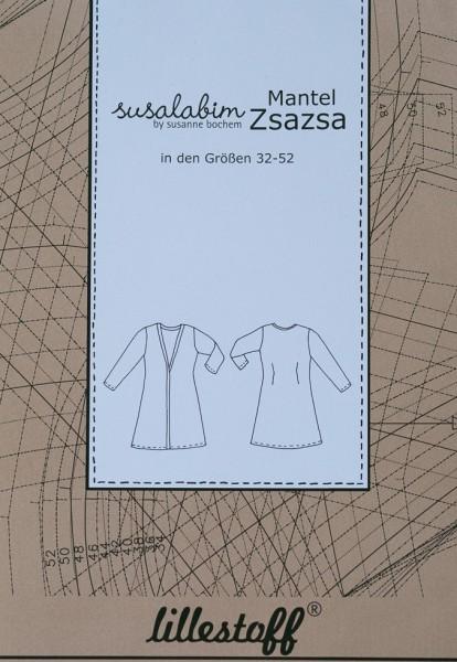 Pattern/lillestoff/Schnittmuster Mantel ZSAZSA Bild 1