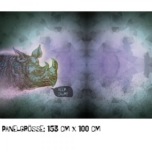 Stoffe/Designer/Tante Gisi/Rhinozerus Bild 1