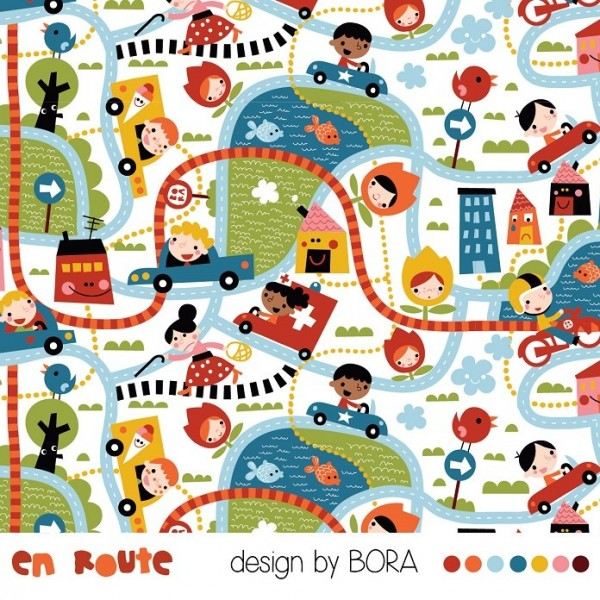 Fabrics/Designers/BORA/En Route Bild 1