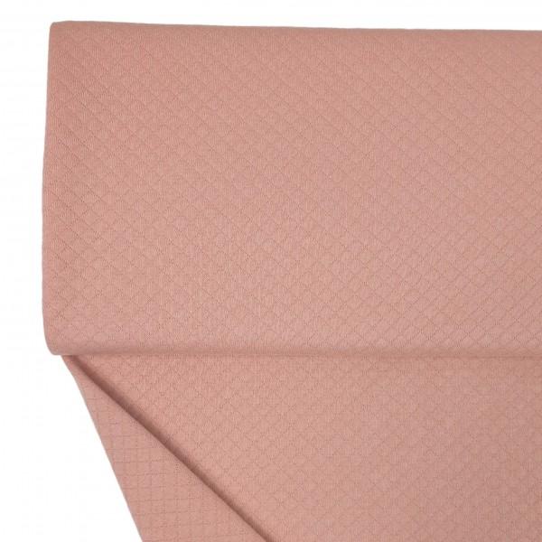 Stoffe/Basics/Stepper Uni/Leichter Baumwollstepper, rosé Bild 1
