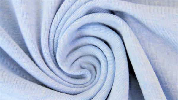 Fabrics/Basics/Solid Jersey/Uni Jersey, hellblau-meliert Bild 1