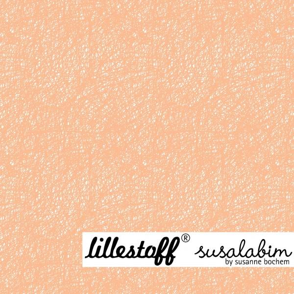 Stoffe/Designer/SUSAlabim/Susalabims Kritzel, apricot Bild 1