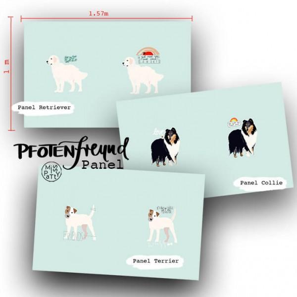 Fabrics/Designers/Miss Patty/Pfotenfreund, Terrier Bild 1