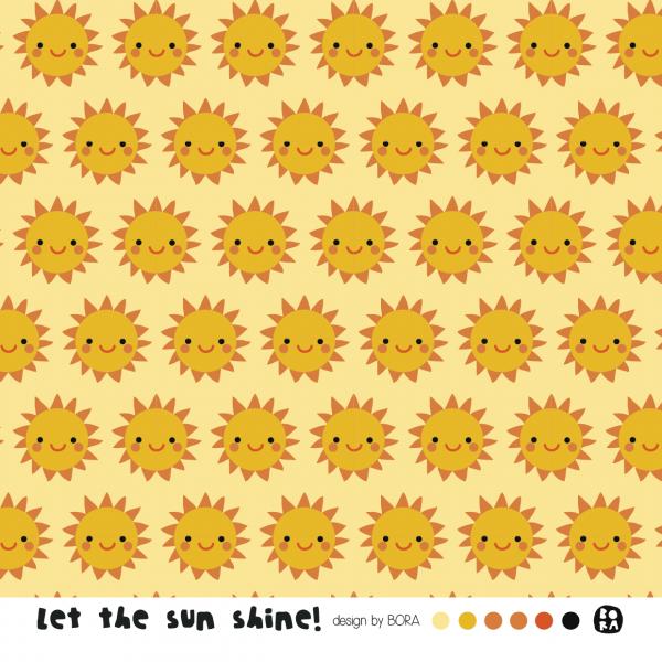 Stoffe/Designer/BORA/Let The Sun Shine Bild 1