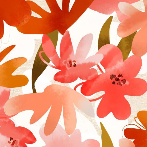 Stoffe/Floral/Sunshineflower BIG Bild 1