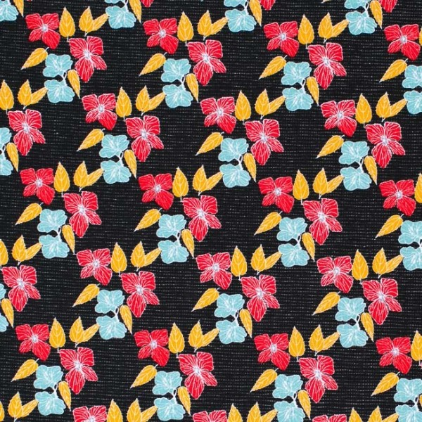 Fabrics/Designers/et voilà/Blooming Winter Bild 1