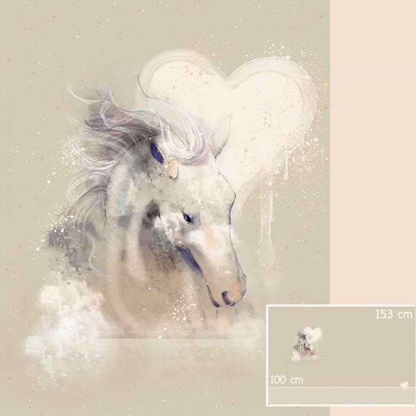 Stoffe/Designer/Tante Gisi/Mein Pferd, Mein Freund Bild 1