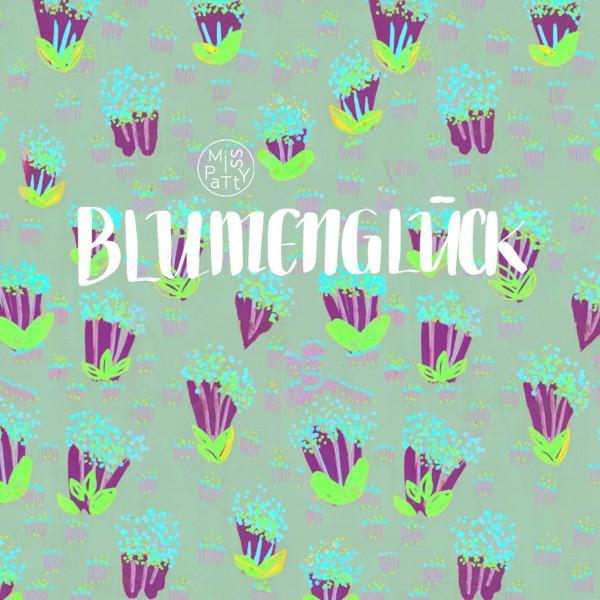 Fabrics/Designers/Miss Patty/Blumenglück, grey Bild 1