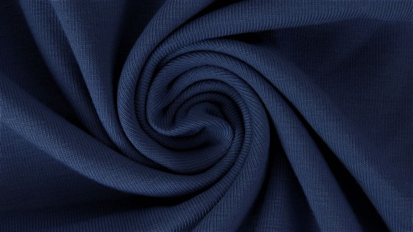 Fabrics/Basics/Solid Jersey/Uni Jersey, marine Bild 1
