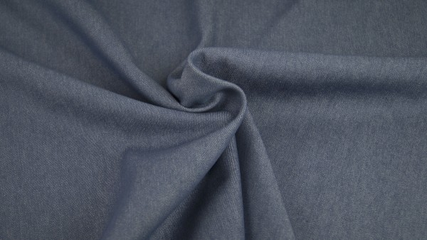Fabrics/Basics/Solid Jeans/Summerjeans, jeansblau Bild 1