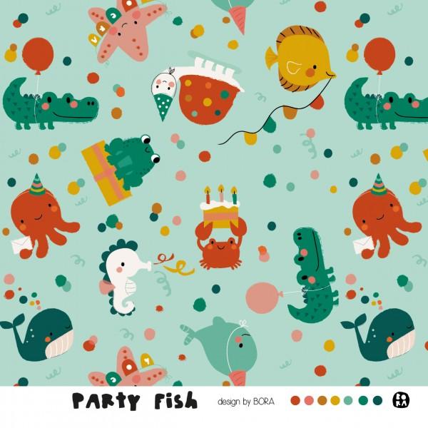 Stoffe/Designer/BORA/Partyfish Bild 1