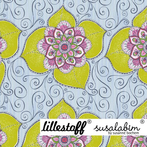 Stoffe/Designer/SUSAlabim/Susalabims Sonnenblumenranke Bild 1