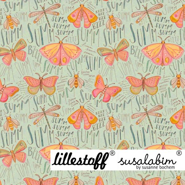 Fabrics/Designers/SUSAlabim/Susalabims Schmetterlinge, grün Bild 1
