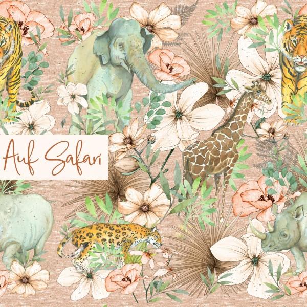 Stoffe/Designer/Tante Gisi/Auf Safari Bild 1