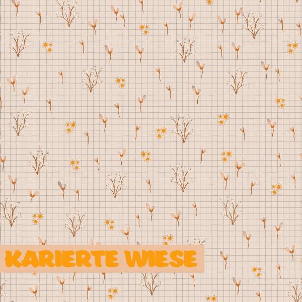 Fabrics/Designers/Tante Gisi/Karierte Wiese Bild 1