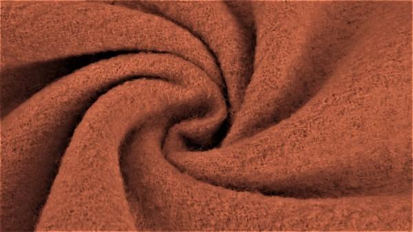 Fabrics/Basics/Solid Boiled Wool/Walkloden, altrosé, dunkel Bild 1