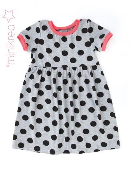 Schnittmuster/MiniKrea/SM50011- Schnittmuster/Pattern Kleid mit Ärmeln/Dress with sleeve Bild 1