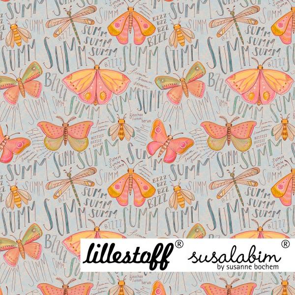Fabrics/Designers/SUSAlabim/Susalabims Schmetterlinge, blau Bild 1