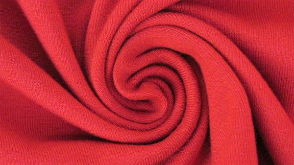 Fabrics/Basics/Solid Viscose Jersey/Viskose Jersey, rot Bild 1