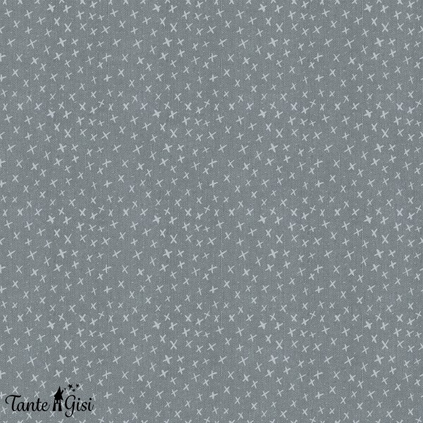 Stoffe/Designer/Tante Gisi/Jeans, grey & Stars Bild 1
