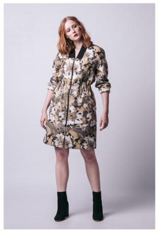 Pattern/Named/06-106 - Schnittmuster/Pattern Beryl Bomber Dress Bild 1