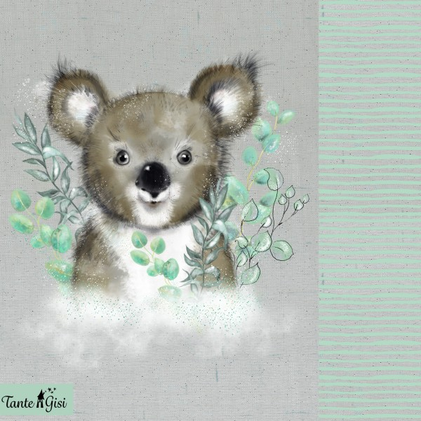 Fabrics/Designers/Tante Gisi/Koala Bild 1