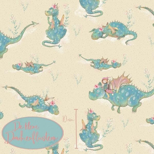 Stoffe/Designer/Tante Gisi/Die Kleine Drachenflüsterin Bild 1
