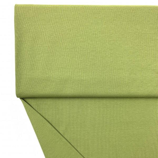 Fabrics/Basics/Solid Rib/Ribjersey, moos Bild 1