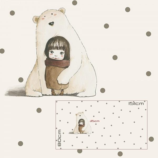 Stoffe/Figuren/Big Bear Love Bild 1
