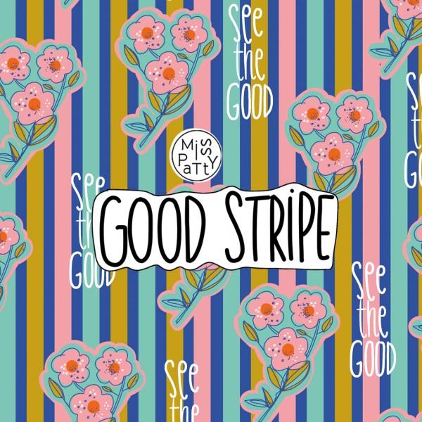 Stoffe/Designer/Miss Patty/Good Stripe Bild 1