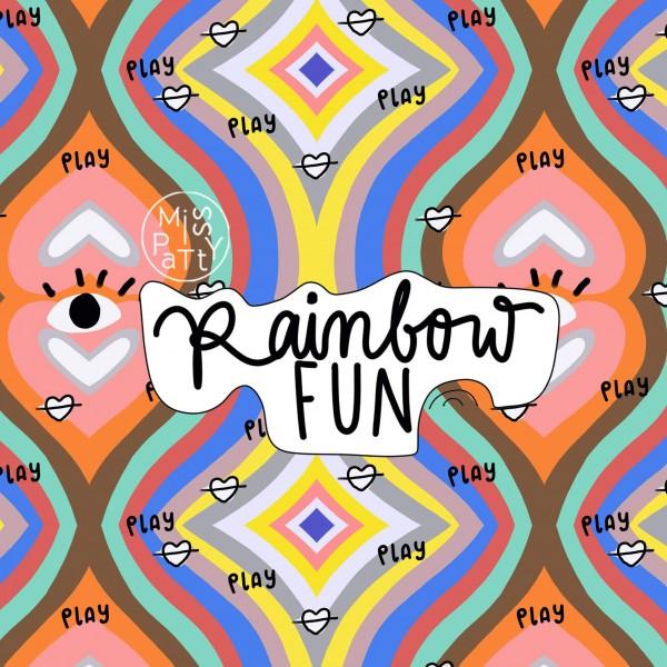Fabrics/Designers/Miss Patty/Rainbowfun Bild 1