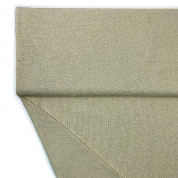 Fabrics/Basics/Solid Slub/leichter Slub French Terry, vanille Bild 1