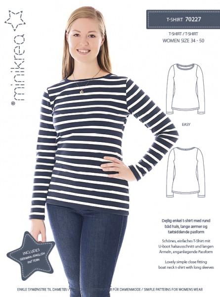 Pattern/MiniKrea/SM70227- Schnittmuster/Pattern T-Shirt Bild 1