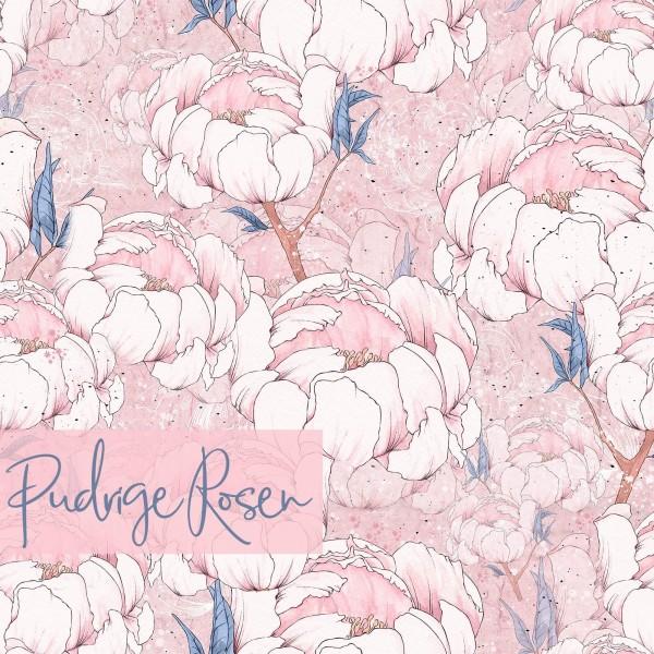 Fabrics/Designers/Tante Gisi/Pudrige Rosen Bild 1